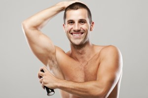 best selling deodorant for men image of man