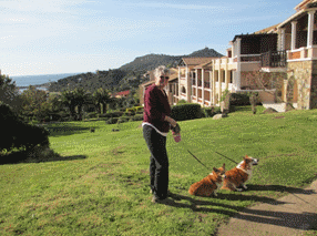 france-cap-esterel-carol-with-dogs