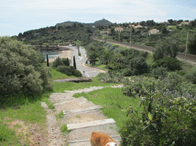 france-cap-esterel-beach-stairs
